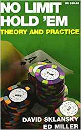 No limit Hold'em theory and practice , di David sklansky
